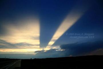 Foto Langit Terbelah Nebraska 2008
